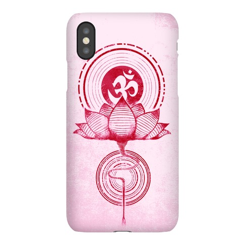 Aum and Lotus Phone Case