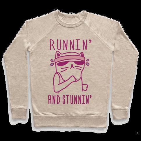 Runnin' And Stunnin' Cat Pullover