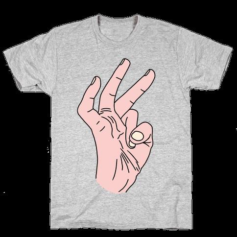 TIGHTBUTTHOLE Mens T-Shirt