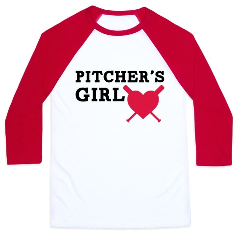 Pitcher's Girl Baseball Tee