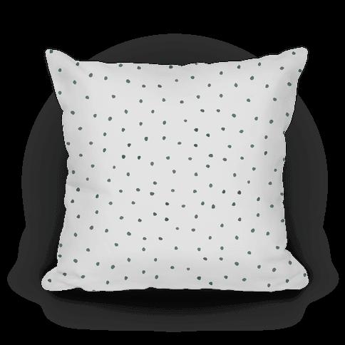 Black and White Watercolor Polka Dots