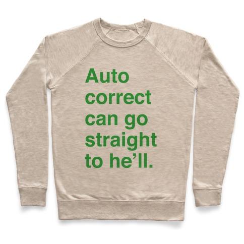 Autocorrect Pullover