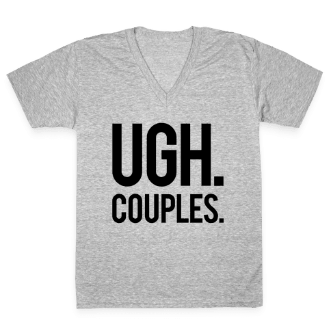 Couples V-Neck Tee Shirt