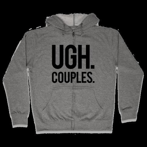 Couples Zip Hoodie