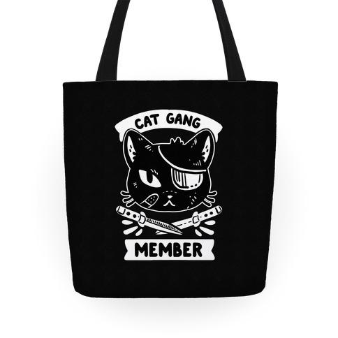 Cat Gang Member Tote