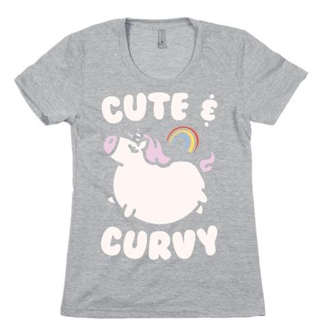 Cute & Curvy Womens T-Shirt