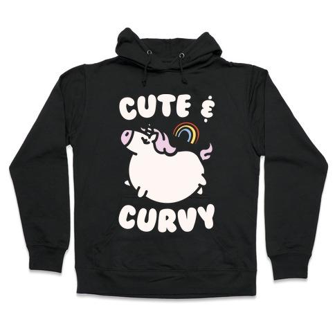 Cute & Curvy Hooded Sweatshirt