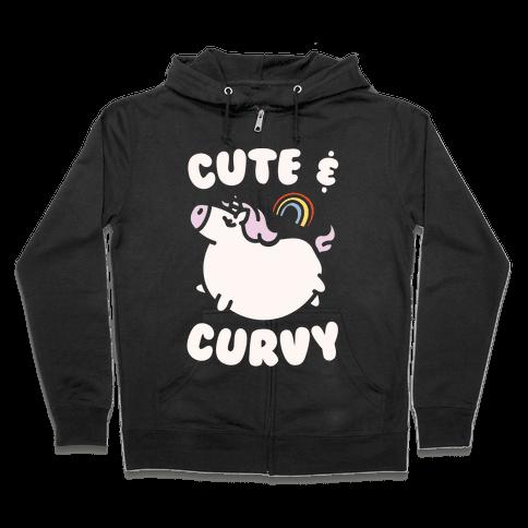 Cute & Curvy Zip Hoodie