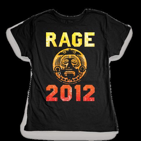 RAGE 2012 Womens T-Shirt