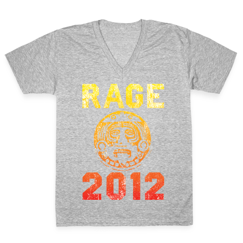 RAGE 2012 V-Neck Tee Shirt