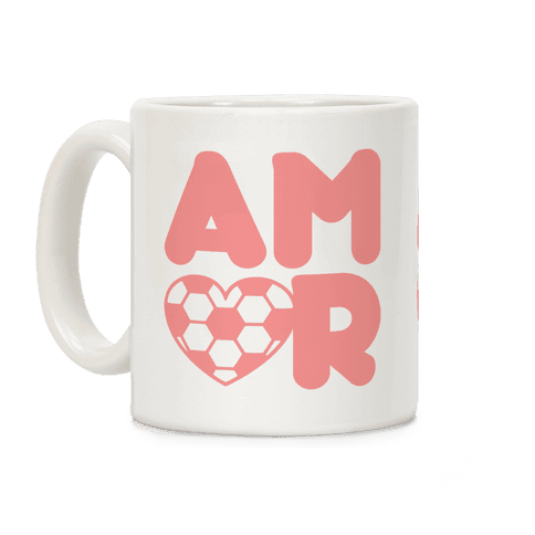 Soccer Amor Coffee Mug