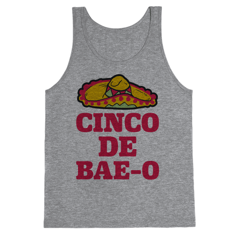 Cinco De Bae-o Tank Top