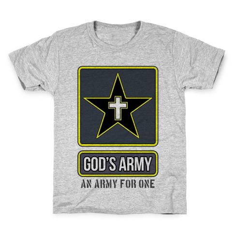 God's Army Kids T-Shirt