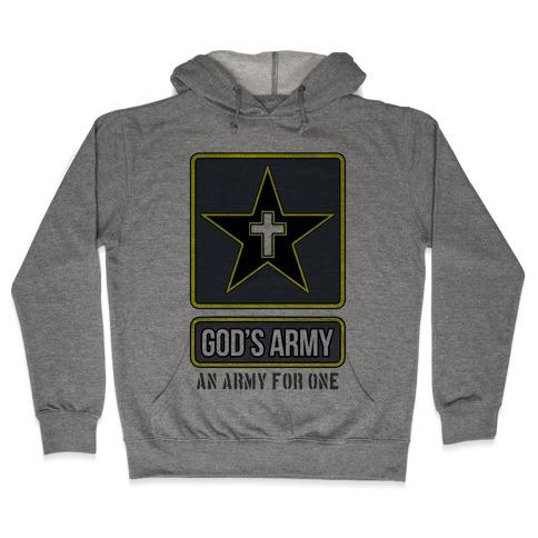 God's Army Hooded Sweatshirt