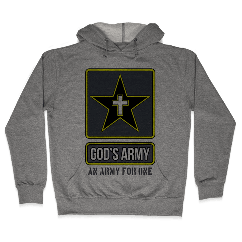 God's Army Hooded Sweatshirt