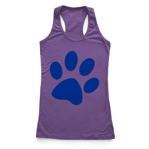 Blue's Clue Racerback Tank Top