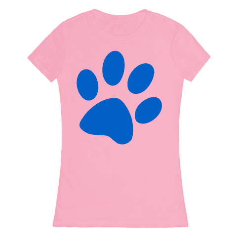 Blue's Clue Womens T-Shirt