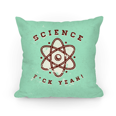 Science F*** Yeah Pillow
