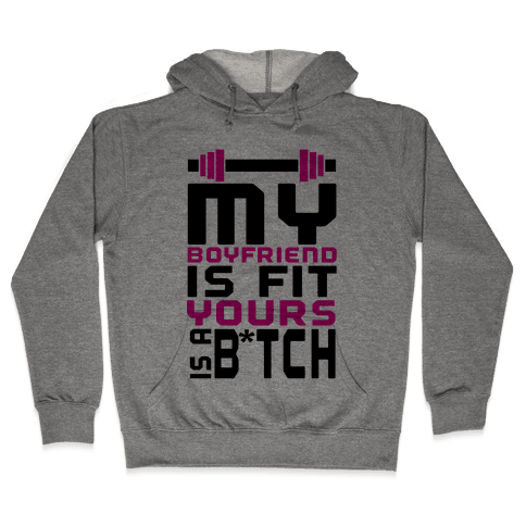 Fit Boyfriend Hooded Sweatshirt