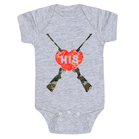 0acffacc71 His   Hers Country Loves Baby One-Piece