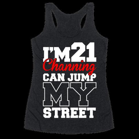 21 Jump Street Racerback Tank Top