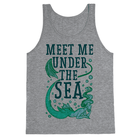 Meet Me Under the Sea Tank Top