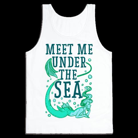 Meet Me Under the Sea Tank Top