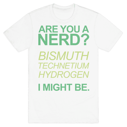 Are You A Nerd? Mens T-Shirt