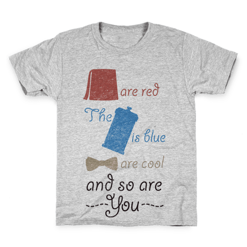 Fezzes Are Red Kids T-Shirt