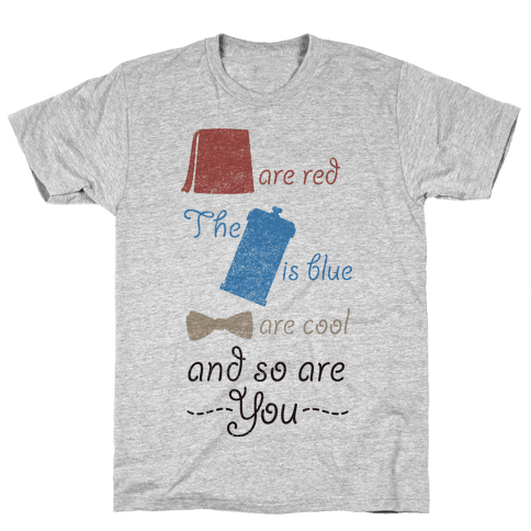 Fezzes Are Red Mens T-Shirt