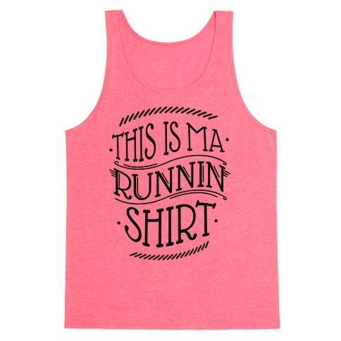 Running Shirt (tank) Tank Top