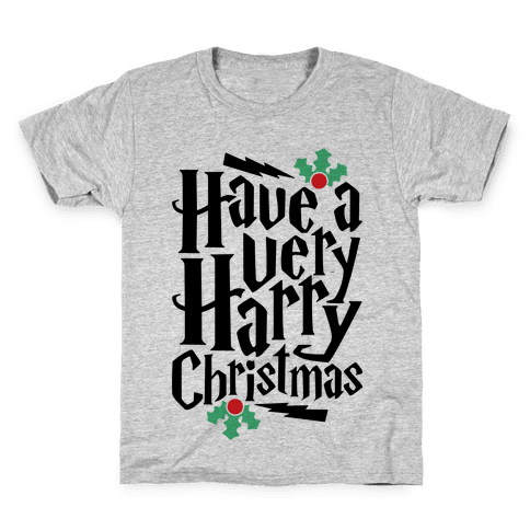 Have A Very Harry Christmas Kids T-Shirt