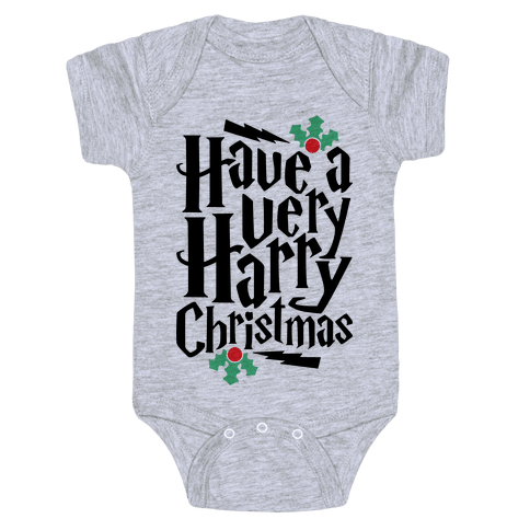 Have A Very Harry Christmas Baby Onesy