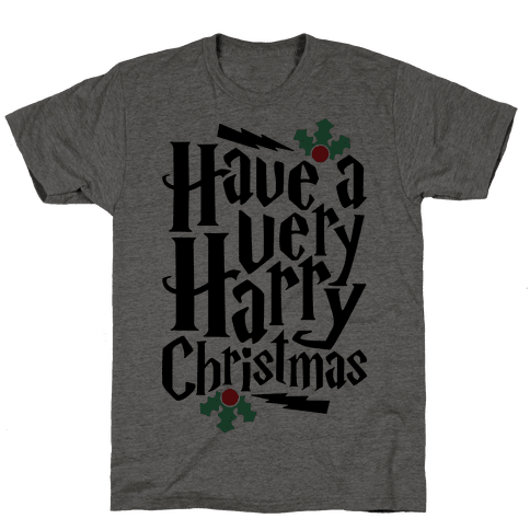 Have A Very Harry Christmas Mens T-Shirt