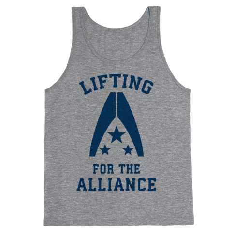 Lifting For The Alliance Tank Top