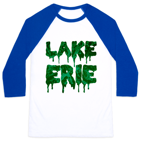 Lake Erie Baseball Tee