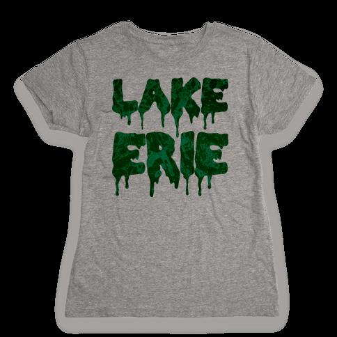 Lake Erie Womens T-Shirt