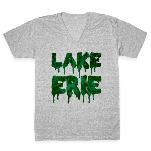 Lake Erie V-Neck Tee Shirt