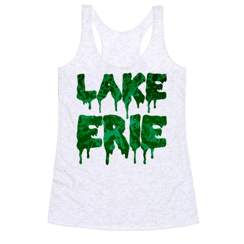 Lake Erie Racerback Tank Top