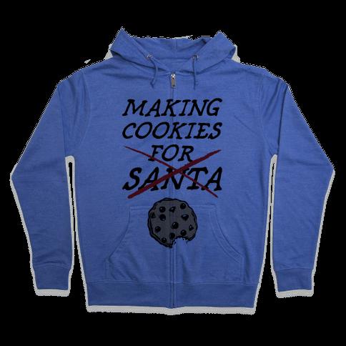 Making Cookies Zip Hoodie