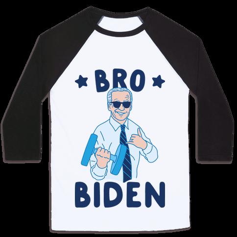 Bro Biden Baseball Tee