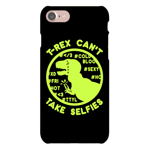Trex can't take selfies Phone Case