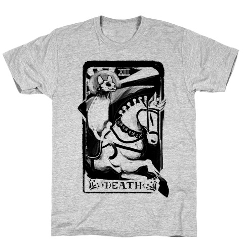 Cat Death Tarot T-Shirt