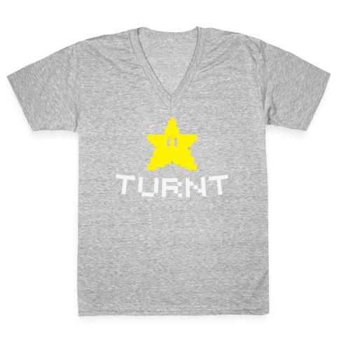 8-Bit Turnt V-Neck Tee Shirt