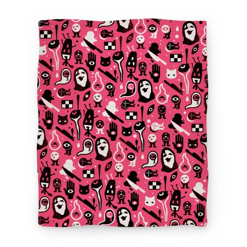 Yume Nikki Pattern Blanket