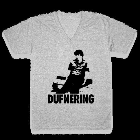 Dufnering V-Neck Tee Shirt