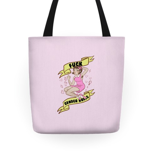 F*** Gender Roles Tote