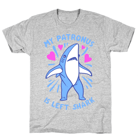 My Patronus Is Left Shark Mens T-Shirt
