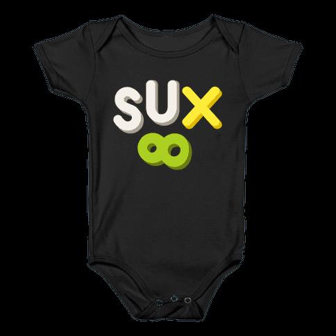 Everything Sux Baby Onesy