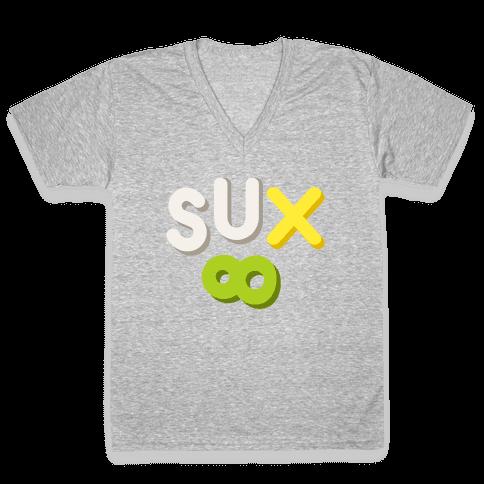 Everything Sux V-Neck Tee Shirt